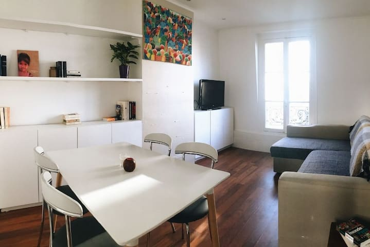 Bright and Cozy 1BR Apartment Near Batignolles