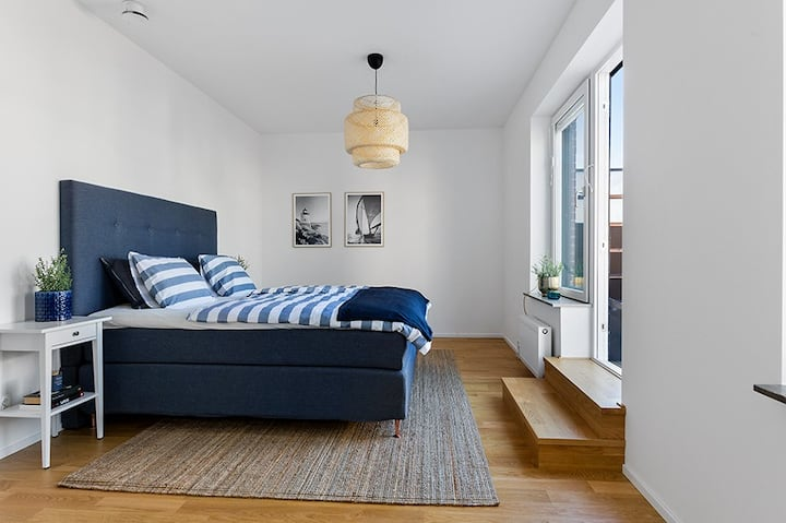 Beautiful brand new apartment in Nacka Strand