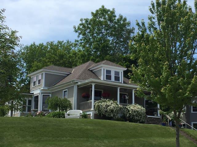Helena House, Port Washington, Lake Michigan View