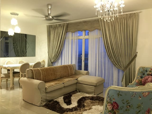 Luxury, spacious top corner apartment in Putrajaya