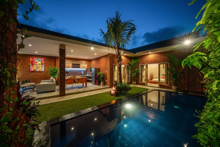 12mio /MONTH /ALL IN/ 2BDRM *PRIVATE VILLA*CANGGU