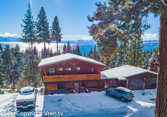 Tahoe Vista Chalet - Amazing Lake Views - Hot Tub