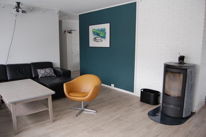 Modern house in beautiful Tromsø