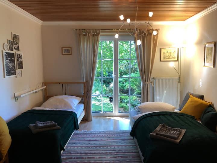 """DorfLandFeld-Zimmer """"Weide""""  im ♡ des Westerwalds"""