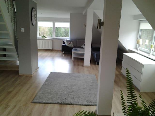 Apartament z parkingiem Szczecin Prawobrzeże - Szczecin - Serviced apartment