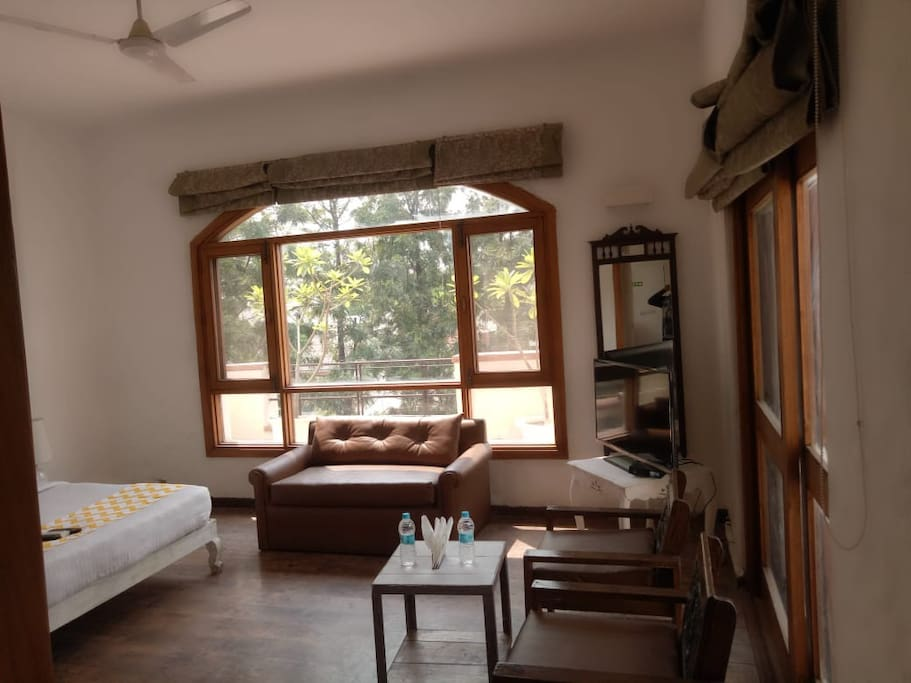 casa 3 with queen size bed, LED TV with, comfort sofa along with Terrace