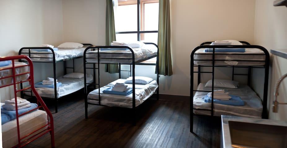 509/511 (Sleeps 8+) · 8-Bed Group Studio located 1-block off Broadway!