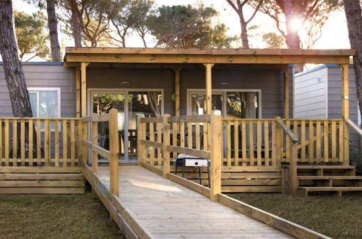Casa Mobile con acceso facilitato