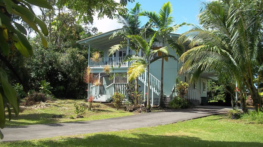 "Big Island ""Mele Maluhia""  Peace 3BR Downstairs"