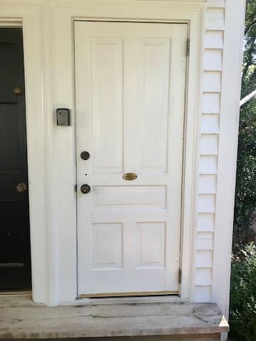 Your private entrance, key in lockbox