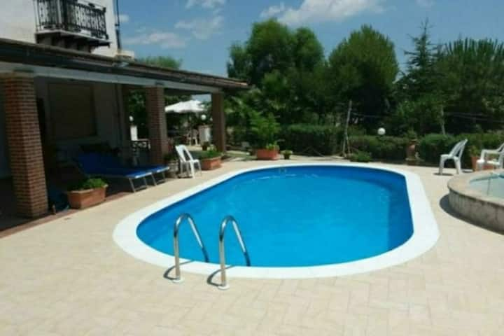 Agrigento pool and temples. free booking for women