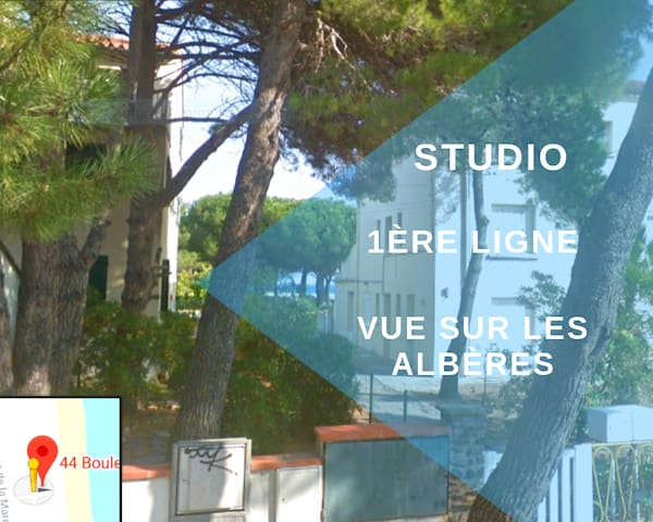 """Studio 20 m2 """"Les pieds dans l'eau"""""""