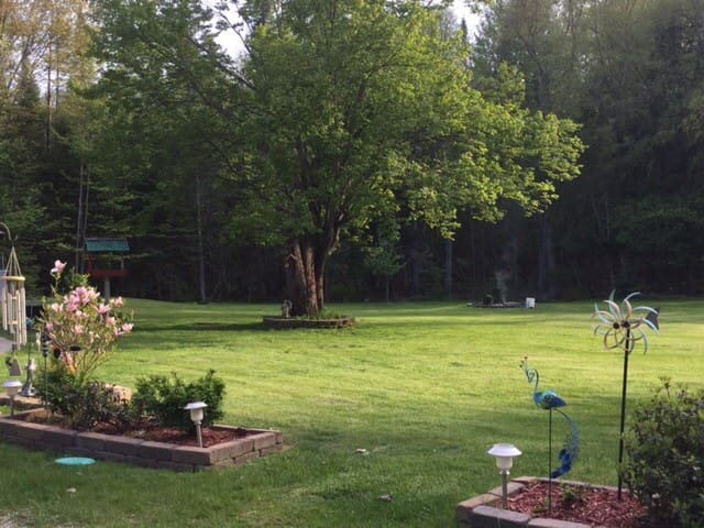 NorthWoods home - peaceful, private, pet-friendly