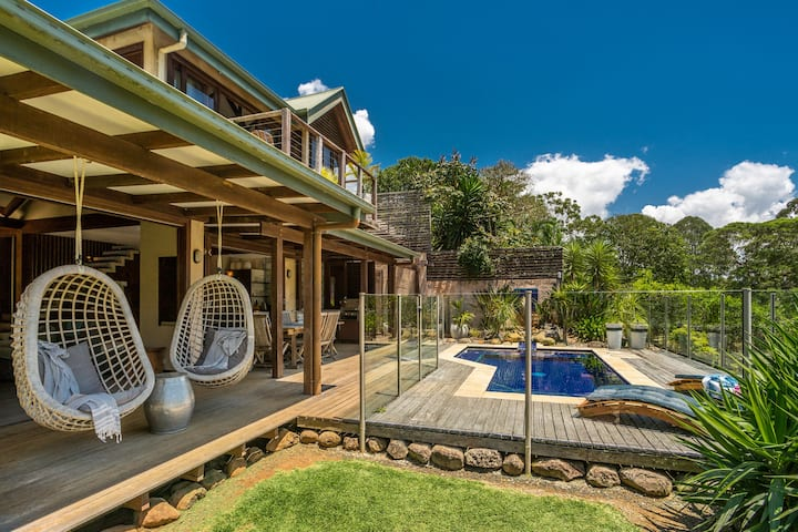 The BlueGreen House - Relaxed Byron Living