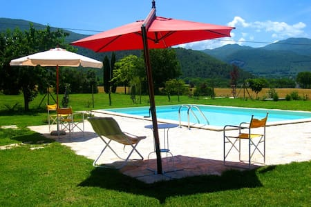 2 Monastery Suites/luxury/sleeps 8/Spoleto-4mls - Spoleto