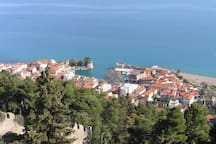 General view of Nafpaktos city