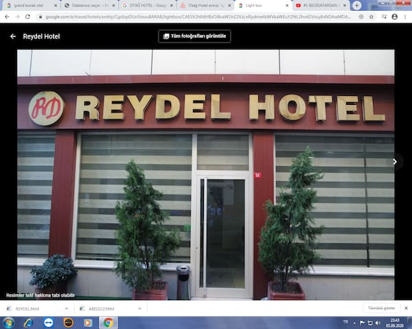 Reydel Hotel next to Suleymaniye Mosque  2 PAX