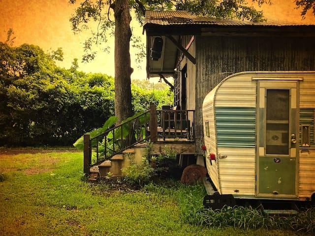 66 Fireball Camper ★ Near Lafayette ★Vintage Charm