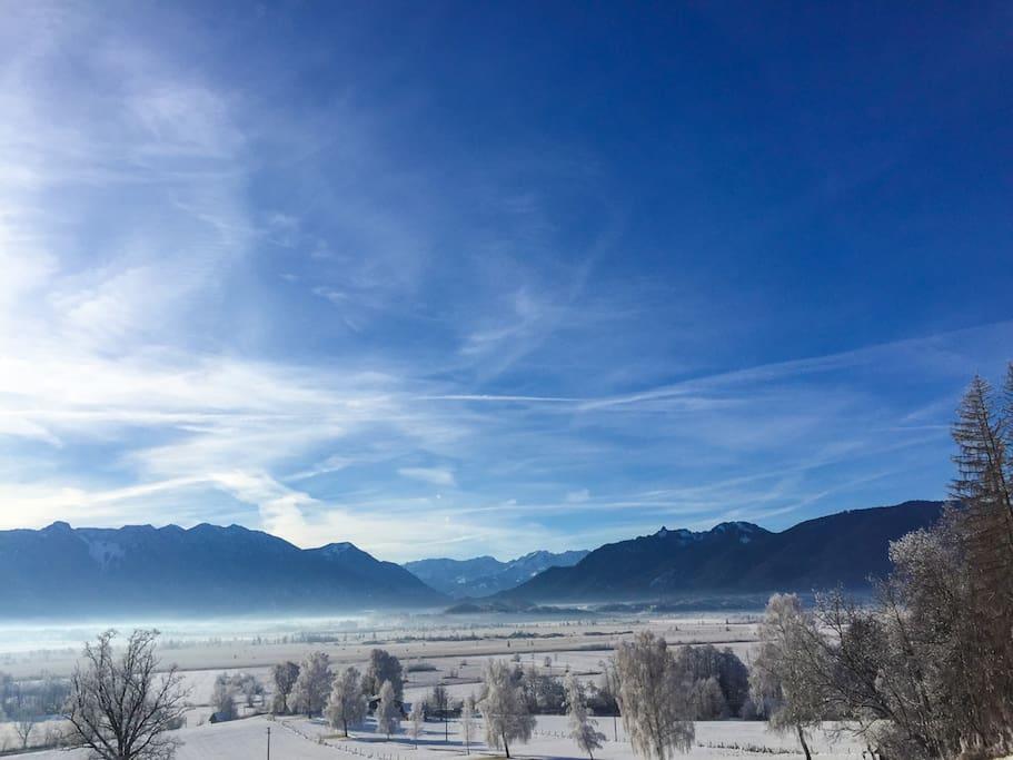 Murnauer Moos im Winter