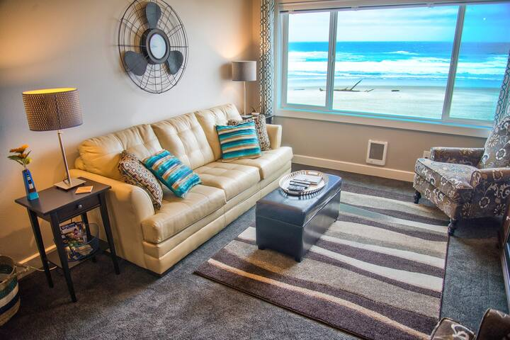 Seas-the-Day-King Oceanfront Condo - Lincoln City - Wohnung