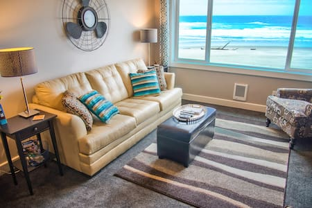 Seas-the-Day-King Oceanfront Condo - Lincoln City