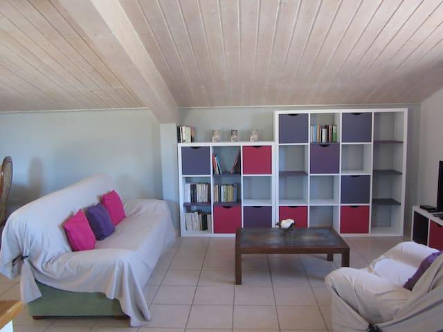 Bel appartement spacieux et familial - Montélier - Apartmen