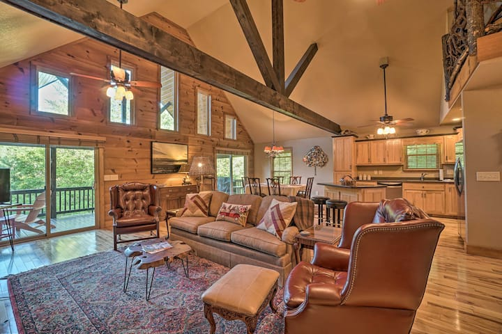 NEW! Blairsville Hideaway: 5 Miles to Lake Chatuge