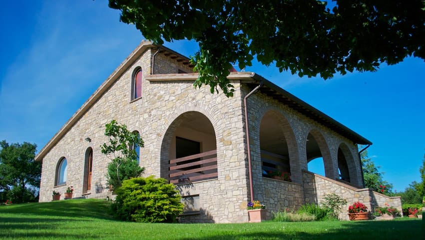 Villa con piscina in Umbria - Todi - Casa de camp
