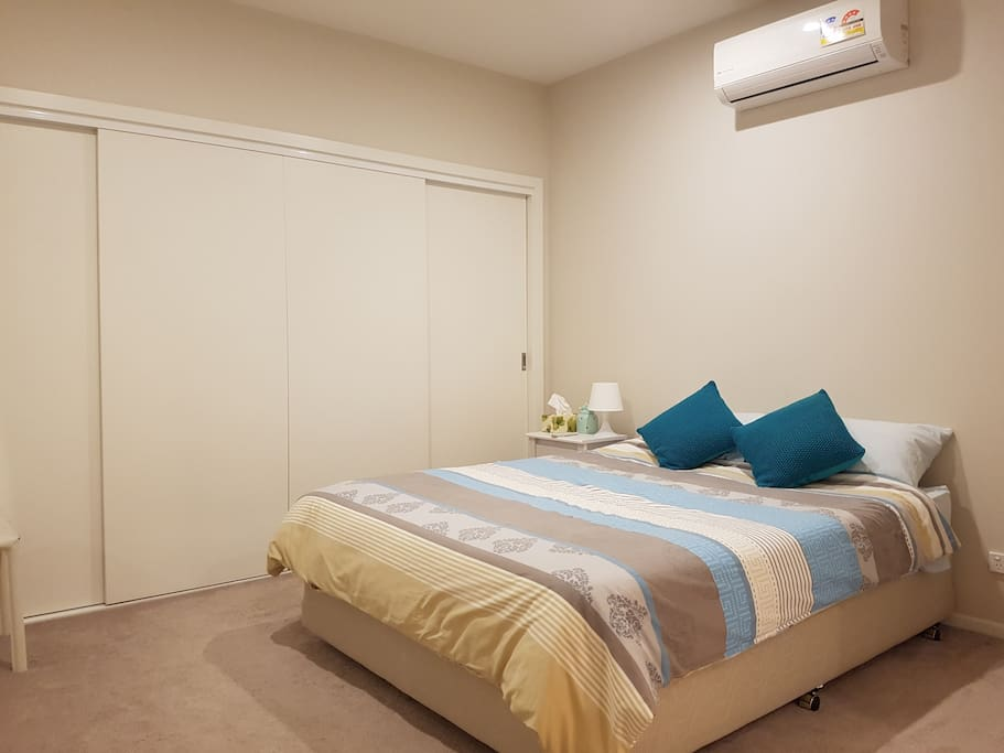 Comfy Double Bedroom with large Wardrobe space.