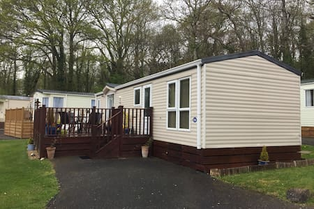 Delightful mobile home/caravan with hot tub - Chudleigh