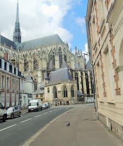 Grand appartement en hyper centre. - Amiens - Apartment
