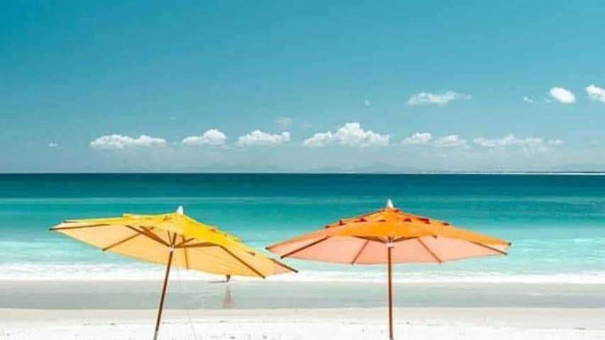 PROMOÇÃO Suíte casal na Praia dos Anjos