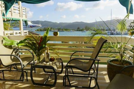 Ocean/Yachtclub View Spacious 2 bed/2 washroom apt - Montego Bay - Wohnung
