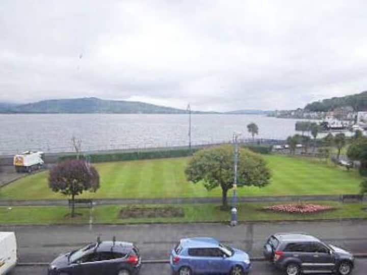Cosy base on Rothesay seafront