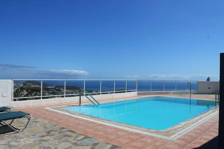 apartamento coqueto con piscina 1 hab
