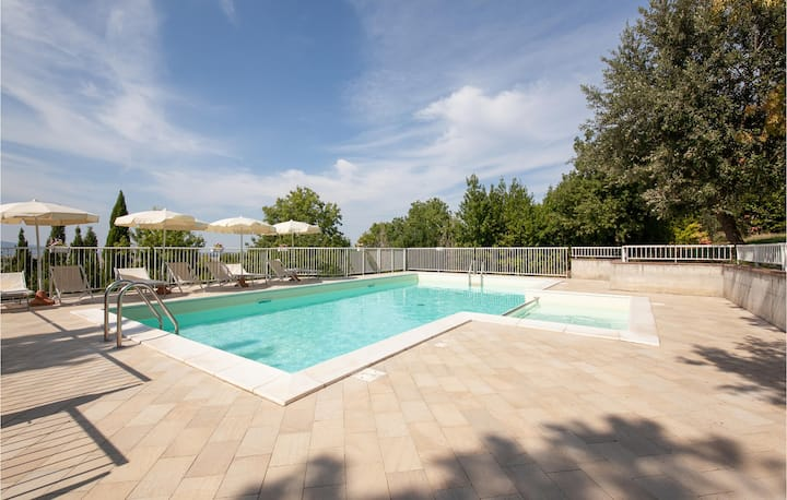 Awesome apartment in Pieve di Santa Luce with Outdoor swimming pool and 1 Bedrooms