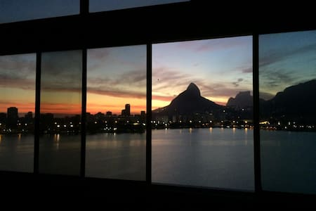 Lofty apartament with great view and cozy bedrooms - Rio de Janeiro