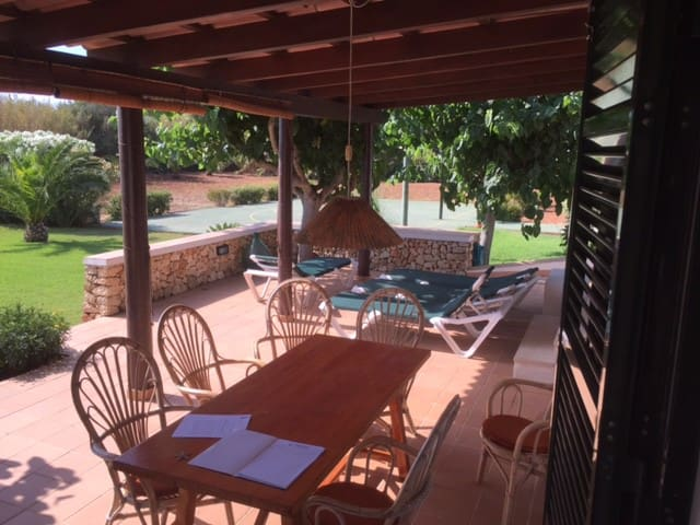 Villa in a peace place near the sea and mahon - Es Castell - House