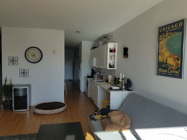 Loft apartment in the heart of the Crossroads!