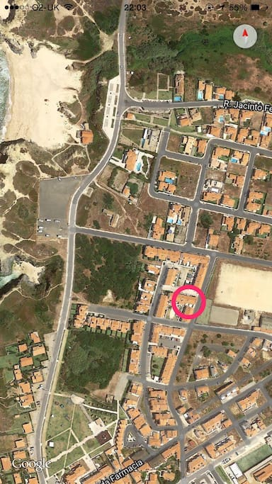 Location-200m from the beach