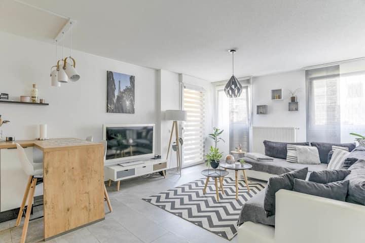 Appartement moderne de 48 m2 avec grande terrasse