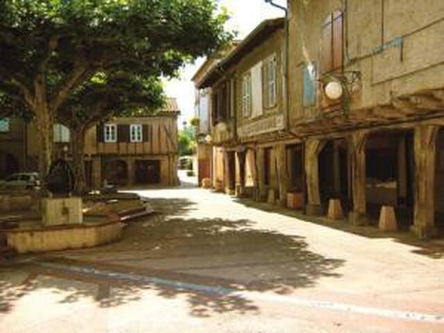 maison indépendante au coeur du village - Briatexte - Rumah