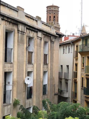 Vista de la Catedral,  c/ Carnicerias