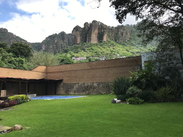 Magical, elegant Tepoztlan house of your dreams.
