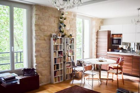 Cozy and spacious studio in Paris Montparnasse - Paris