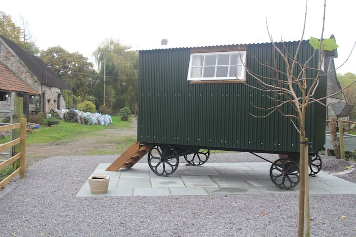 Brook Farm Shepherds Hut - Somerset