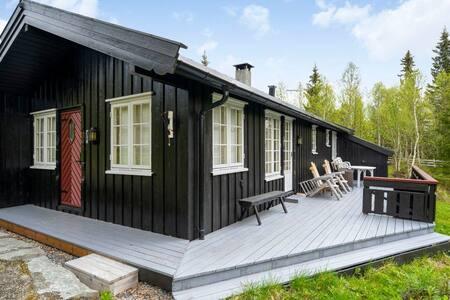 Hyggelig hytte til leie
