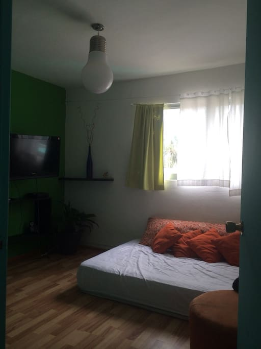 Private room double bed, tv