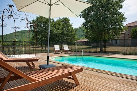 Le Caillau - Luxury gite with restaurant - Vire-sur-Lot
