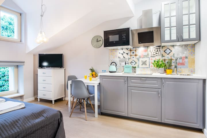 Krakow Central Station & Old Town Cozy Apartment